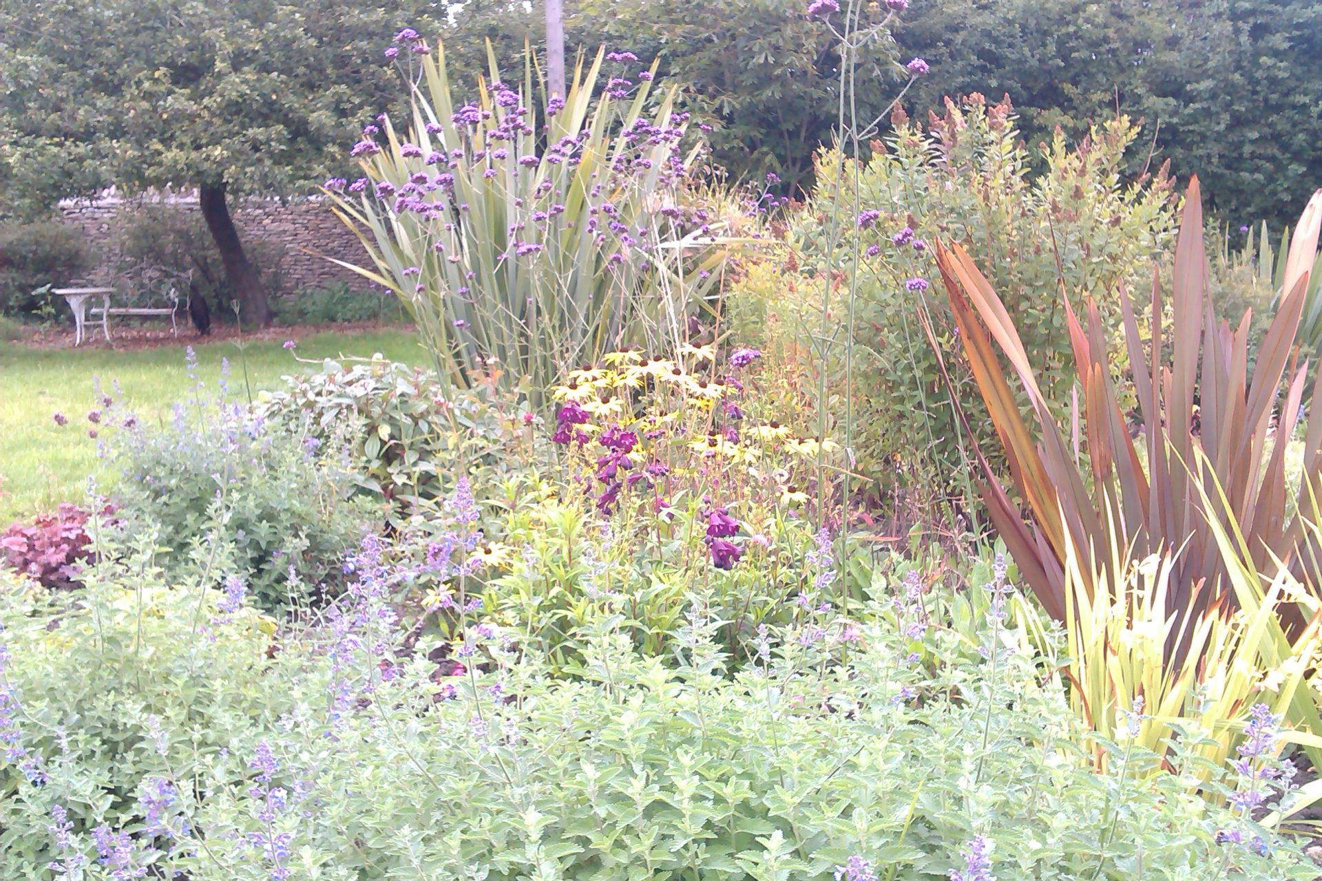 Bath garden design