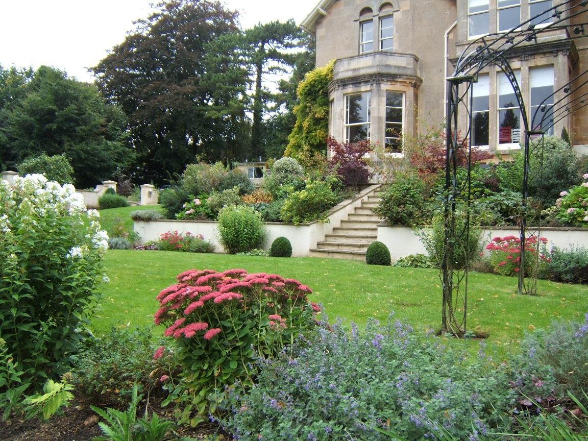Bath Victorian Garden Design 01