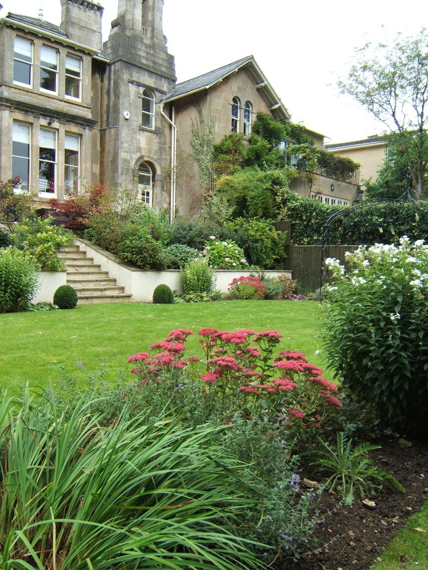 Bath victorian garden design 04 melanie jackson garden for Garden design victoria