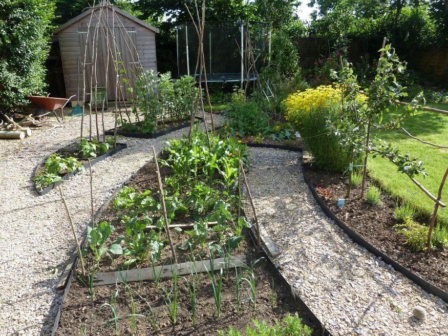 Kitchen & Vegetable gardens, Somerset.