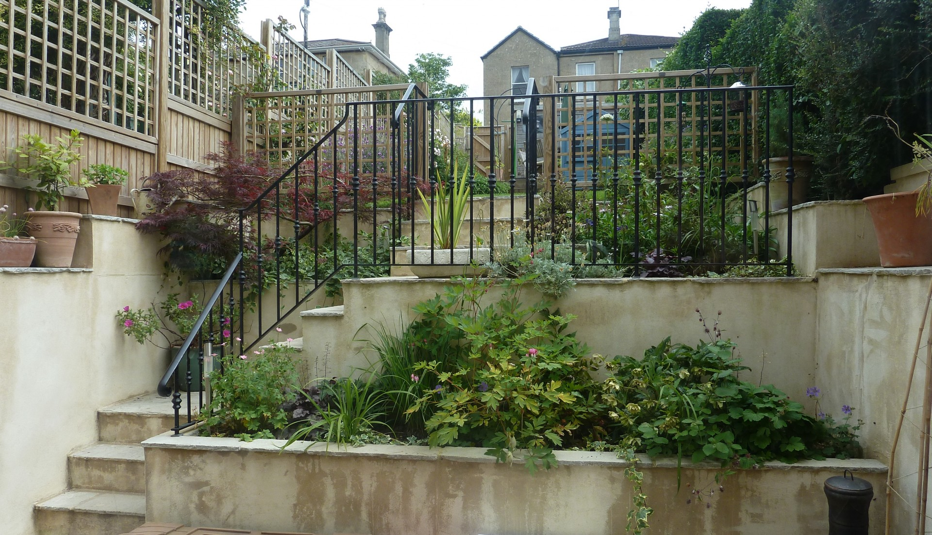 Bath Small Garden Design