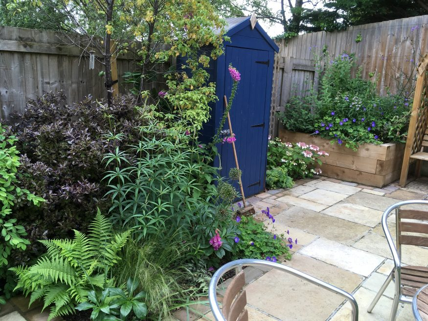 Courtyard and Terraced Gardens, Bath